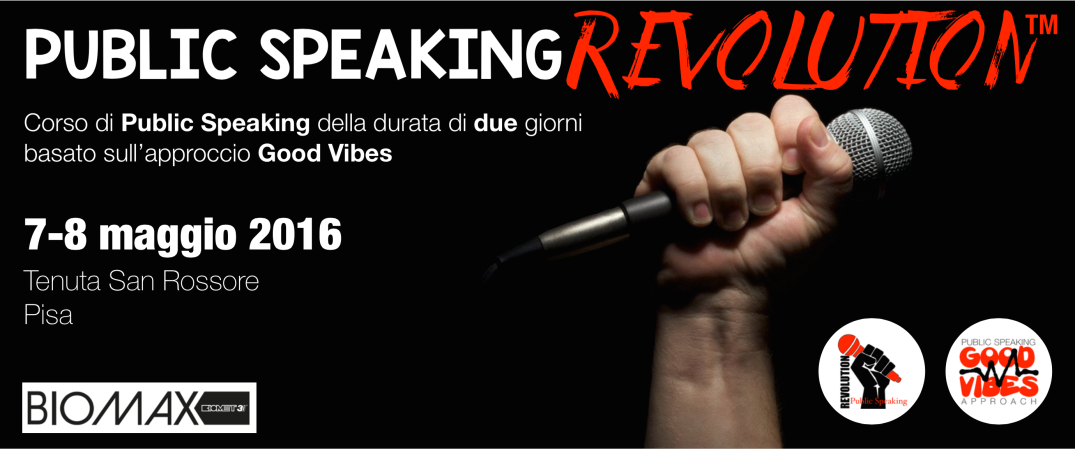 Public Speaking Revolution